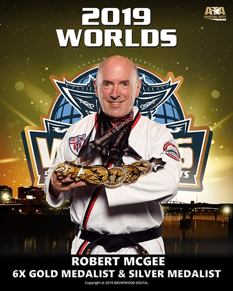 Robert W. McGee 2019 world championship awards